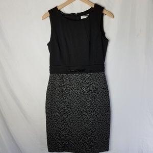 Calvin Klein Sleeveless Dress - Petite